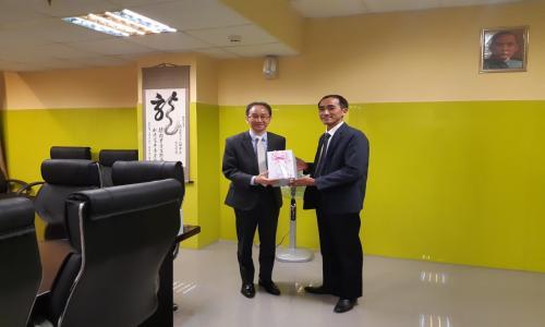 Buổi làm việc của Lãnh đạo VCCI Cần Thơ với Văn phòng Kinh tế Văn hóa Đài Bắc