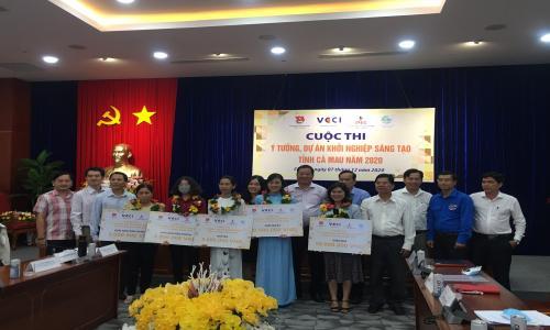 Cà Mau tổ chức Vòng Chung kết Cuộc thi Ý tưởng, Dự án Khởi nghiệp sáng tạo năm 2020