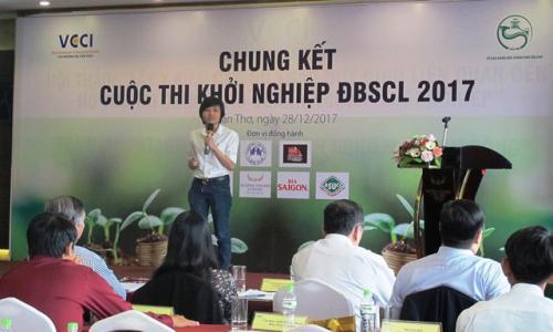CẦN THƠ: Chung kết Cuộc thi Khởi nghiệp ĐBSCL 2017