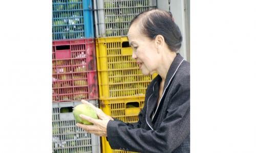 Chị Ba Sương khởi nghiệp ở tuổi 70