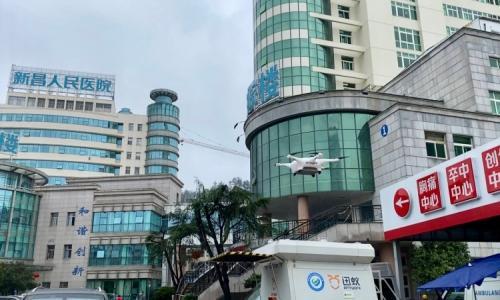 Cơ hội cho startup giao hàng y tế bằng drone tại Trung Quốc