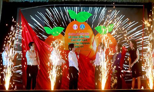 Công bố xuất khẩu lô xoài đầu tiên của Việt Nam sang Hoa Kỳ