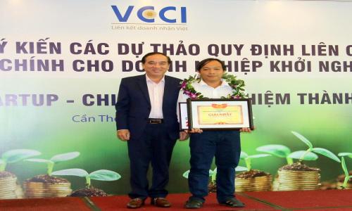 Đồng Tháp đạt giải nhất cuộc thi Khởi nghiệp ĐBSCL 2017