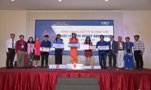 Dự án Ba khía Đầm Dơi đoạt giải Quán quân Cuộc thi Khởi nghiệp ĐBSCL 2020