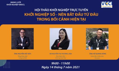 Hội thảo khởi nghiệp trực tuyến ngày 14.7