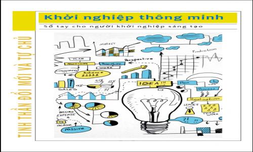 Khởi nghiệp thông minh - Sổ tay cho người khởi nghiệp sáng tạo