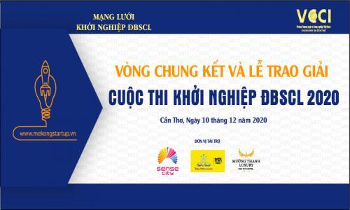 Tổ chức Vòng Chung kết và Lễ trao giải Cuộc thi Khởi nghiệp ĐBSCL 2020