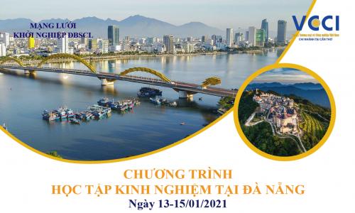 VCCI Cần Thơ tổ chức Chương trình Học tập kinh nghiệm tại Đà Nẵng