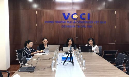 VCCI tại Cần Thơ làm việc với Công ty CP Quản lý  Đầu tư Khởi nghiệp Sáng tạo Việt Nam (ICM)