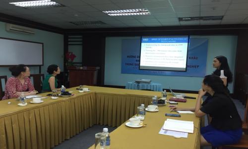 VCCI tiếp đoàn Cơ quan Xúc tiến Công nghiệp Công nghệ Thông tin Quốc gia của Hàn Quốc đến làm việc