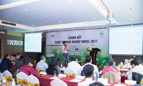 Vòng Chung kết Cuộc thi Khởi nghiệp ĐBSCL 2017